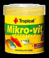 Tropical Mikrovit Vegetable 50ml zivju barība