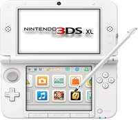 Nintendo New 3DS XL HW White - 2208432 spēļu konsole