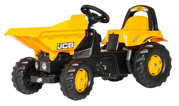 Traktors ar pedāļiem rollyKid Dumper JCB (2.5-5g.)