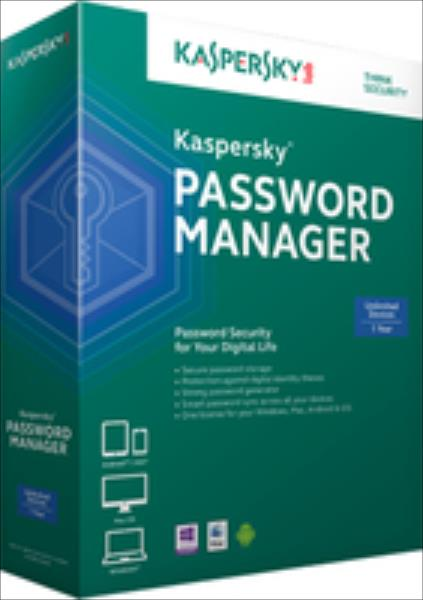 Kaspersky Password Manager 1 Lizenz