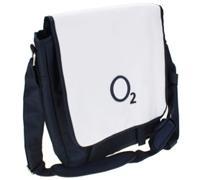 Laptop Bag (O2) 15.4 blue/white portatīvo datoru soma, apvalks