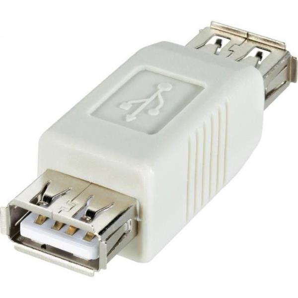Manhattan Hi-Speed USB adapter A female to A female