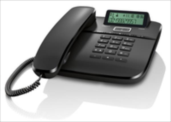 Gigaset PHONE DA610 Black telefons