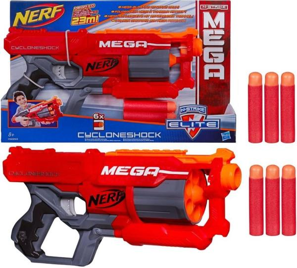 Hasbro Nerf Mega cyclon Rotaļu ieroči