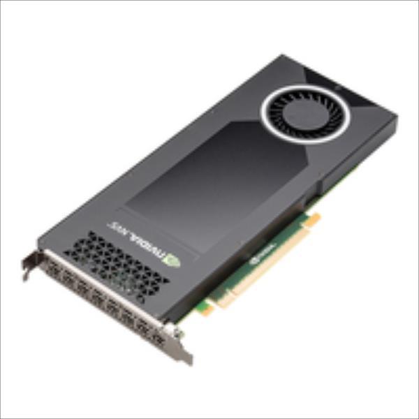 PNY NVIDIA NVS 810, 4GB GDDR3 (128 Bit), 8x miniDP, 8x miniDP to DVI adapters video karte