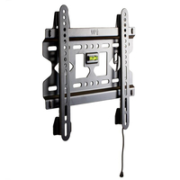 4World Wall Mount for LCD 15''- 43'', SLIM, max load 45kg BLK TV aksesuāri