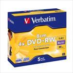 Verbatim DVD+RW/5/Box 1.4GB 2x 43565 matricas