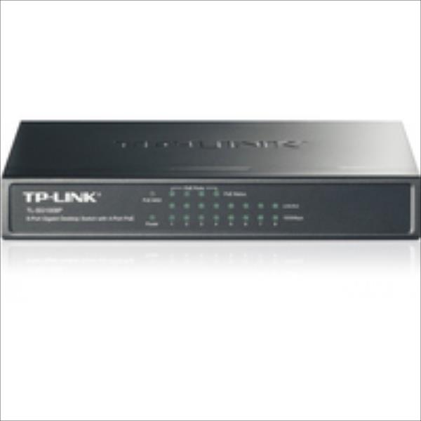 TP-Link TL-SG1008P 8-Port Gigabit Desktop PoE Switch komutators