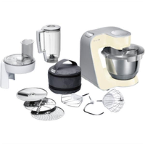 Bosch MUM 58920 CreationLine Smooth Vanilla Virtuves kombains