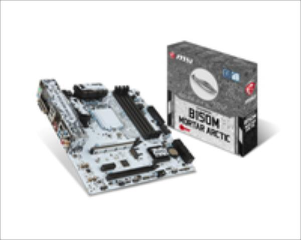 MB MSI B150M MORTAR ARCTIC (B150,S1151,mATX,DDR4,Intel) pamatplate, mātesplate