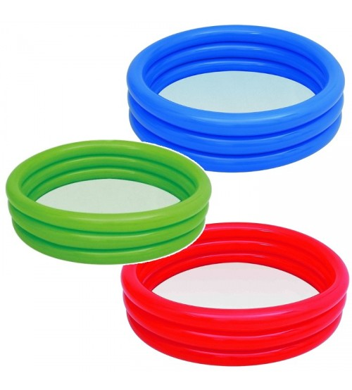 Bestway Inflatable pool 3 rings 152x30cm - 3 colors