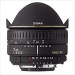 Sigma EX 15mm F2.8 DG Diagonal Fisheye for Canon, 7 Elements foto objektīvs