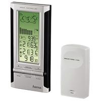 HAMA 'EWS-380'ELECTRONIC WEATHER STATION BLA/SIL barometrs, termometrs