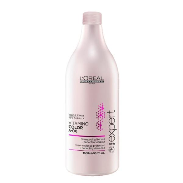Loreal Expert Vitamino Color A-OX Shampoo W 1500ml Matu šampūns