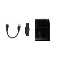 LOGILINK -  USB3.0 2,5'' External Enclosure, Leather-Pack Design cietā diska korpuss