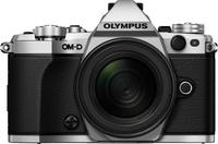 Olympus E-M5 Mark II Korpus Srebrny + EZ-M1240PRO Melns Digitālā kamera