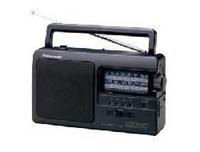 Panasonic RF-3500 black radio, radiopulksteņi