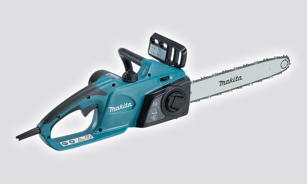 Makita Chainsaw UC4041 A blue Elektriskais zāģis