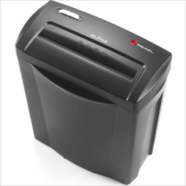 REXEL Shredder Home and small office Alpha CrossCut papīra smalcinātājs