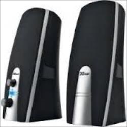 Trust MiLa 2.0 Speaker Set (5 watts, headphones socket) datoru skaļruņi