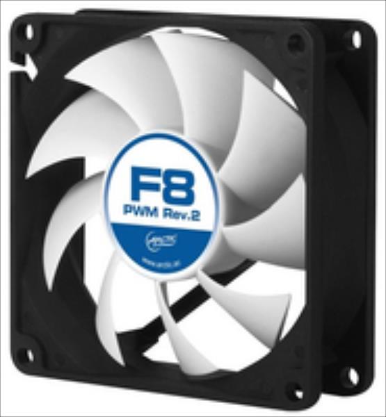 Arctic  F8 PWM Rev.2 80mm Fan Low Nois ventilators