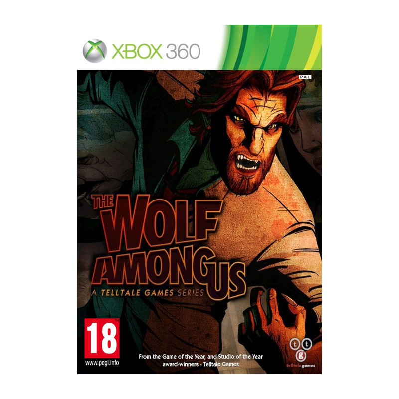Microsoft XB360 The Wolf Among Us