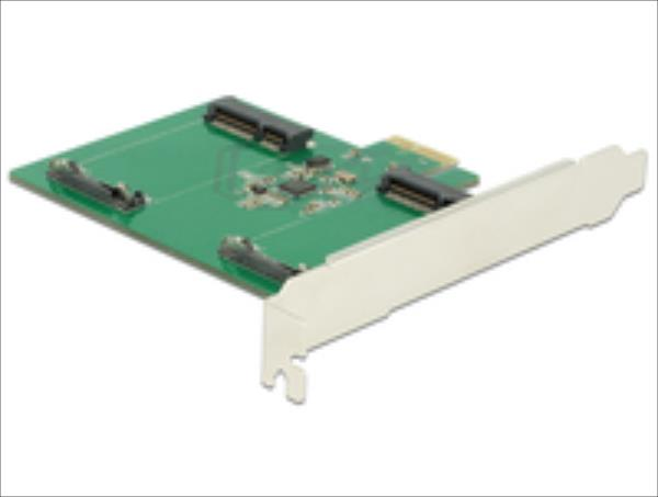 Delock PCI Expr Card 2x mSATA Slot int - 89479 karte