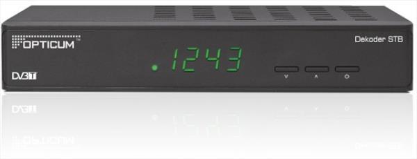 Opticum TV Opticum GLOBO STB DVB-T uztvērējs