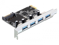 PCI Expr Card Delock 4x USB3.0 ext karte