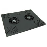 TITANUM Stand Cooling pod Notebook Zonda TA102, 2 Fans portatīvā datora dzesētājs, paliknis