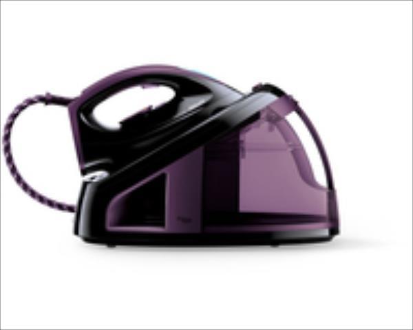 PHILIPS FastCare gludināšanas sistēma (melns ar violetu) GC7715/80 Gludeklis