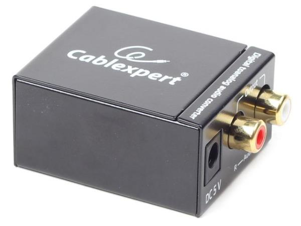 Gembird digital (toslink) to analog audio converter adapteris