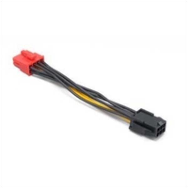 PCIe 6pin to PCIe2.0     8pin adapter AK-CB052 adapteris