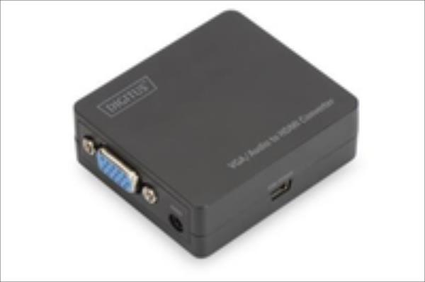Digitus VGA to HDMI converter, incl. Audio 1xmini JACK