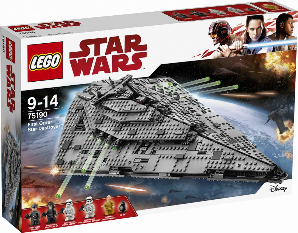 LEGO Star Wars 75190 First Order Star Destroyer LEGO konstruktors