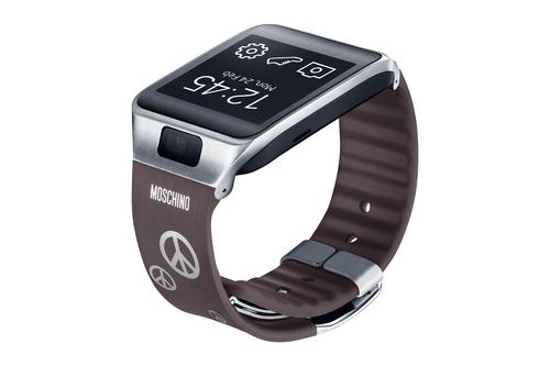Samsung Gear 2/Gear 2 Neo Moschino Strap Gray ET-SR380RSEGWW Viedais pulkstenis, smartwatch