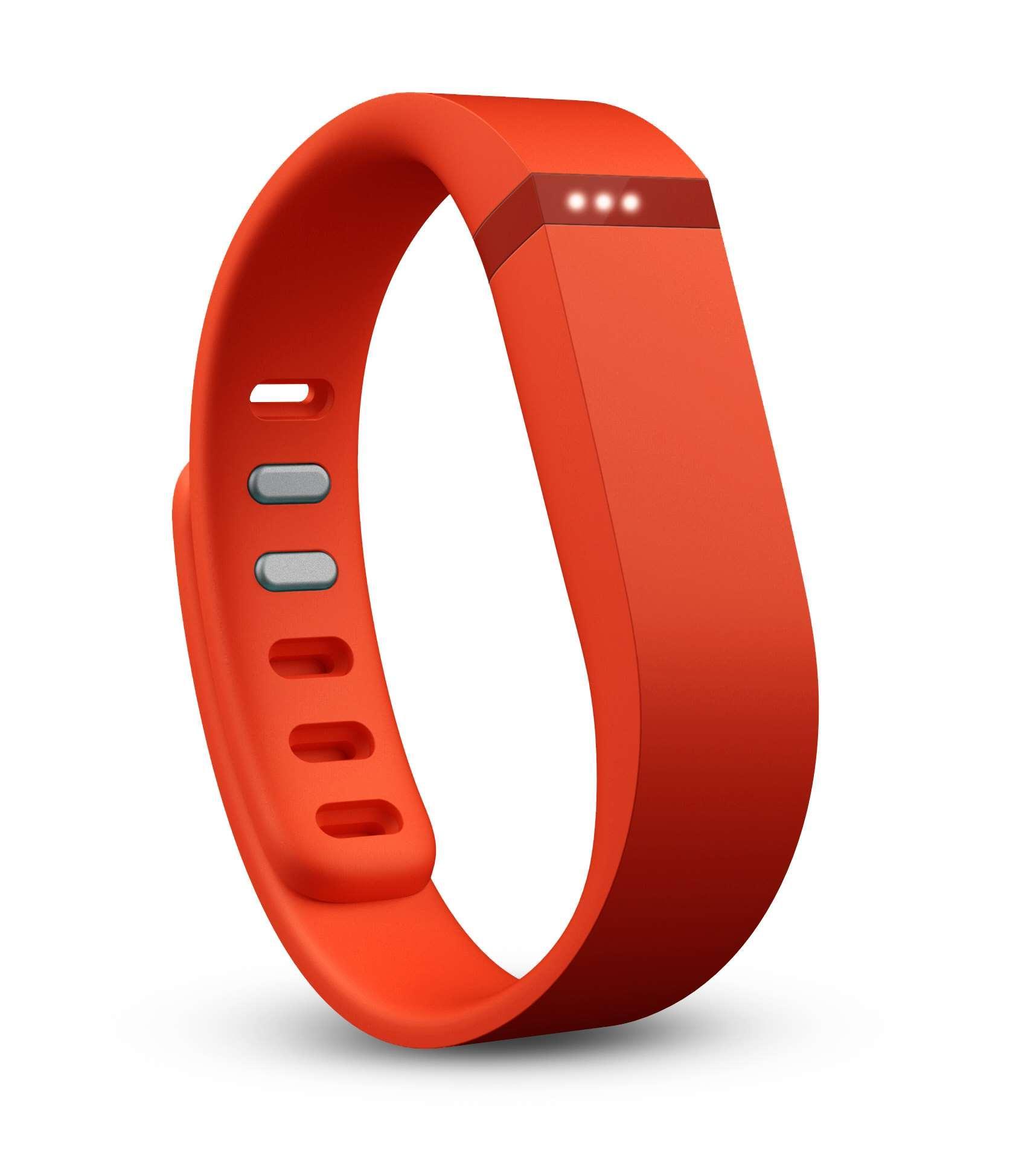 Fitbit Flex - Tangerine T-MLX02230 Viedais pulkstenis, smartwatch