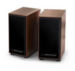 ESPERANZA EP122 Speakers 2.0 / 2 x 3W - FOLK datoru skaļruņi