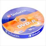Verbatim DVD-R  | 4,7GB | 16x | Matt Silver | WRAP 10 pack matricas