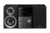 Wieza Panasonic Panasonic SC-PM602EG-K black - SCPM602EGK mūzikas centrs