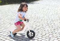 Jamara Laufrad Holz Roller white Radiovadāmā rotaļlieta