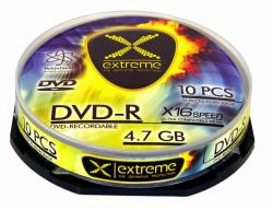 Extreme DVD-R [ cake box 10 | 4.7GB | 16x ] matricas