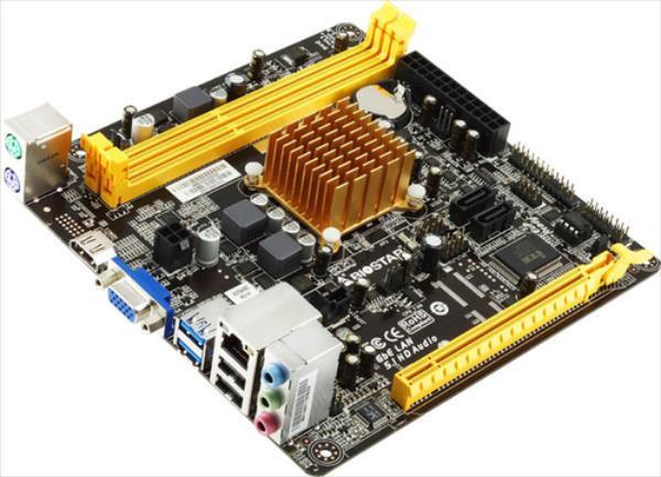 Biostar A68N-2100, APU E-2100, DDR3-800-1600, HDMI., SATA3, MINI ITX (GLAI04) pamatplate, mātesplate