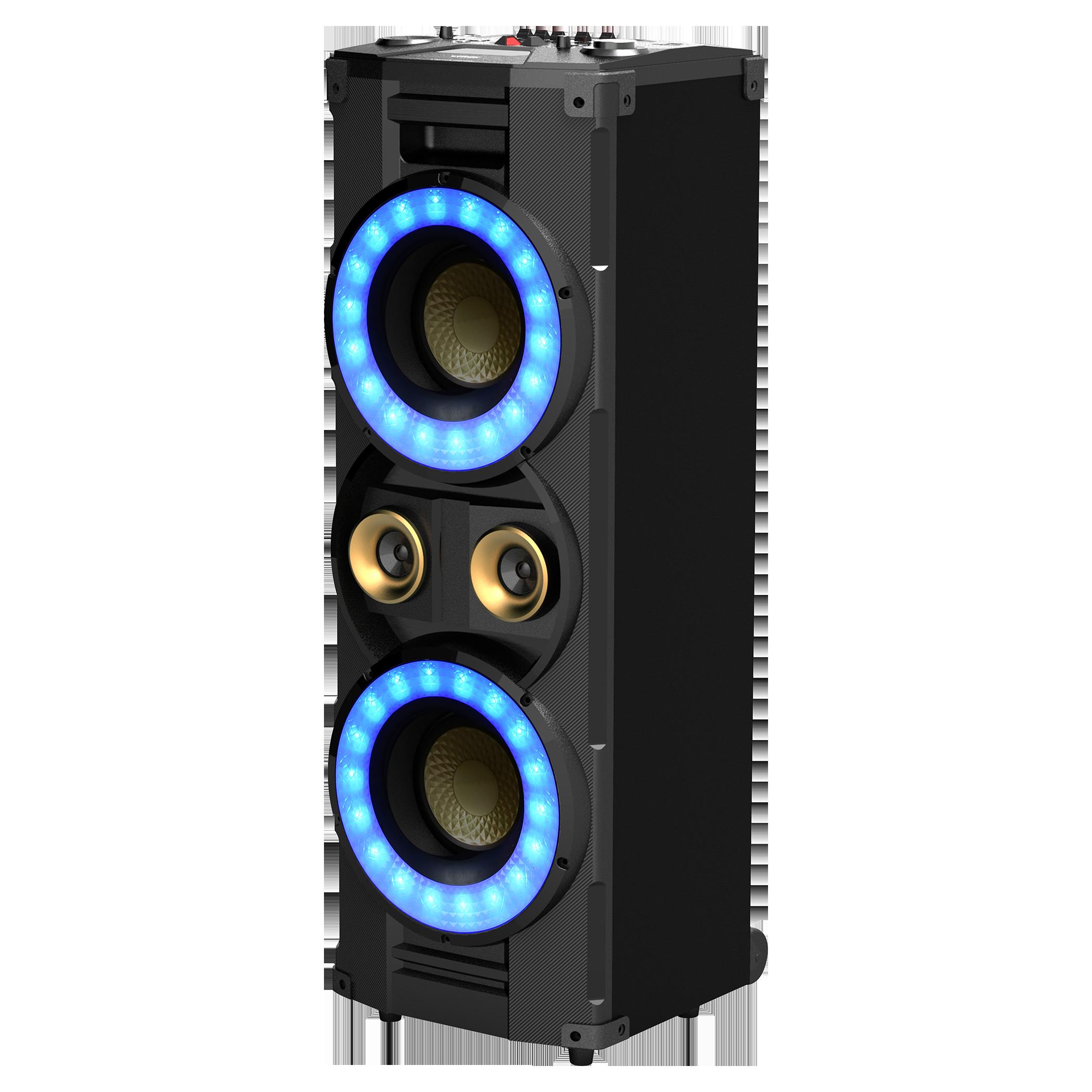 Skaņu sistēma. Jauda: 400W.LED displejs SSS 4001 mūzikas centrs