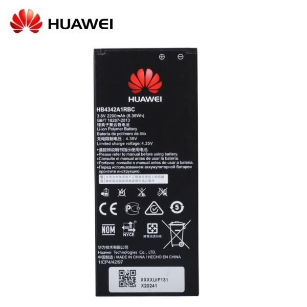 Huawei HB4342A1RBC oriģināls Akumulators Honor Y6 SCL-TL00 SCL-AL00 CL00 Li-Ion 2200mAh (OEM) akumulators, baterija mobilajam telefonam