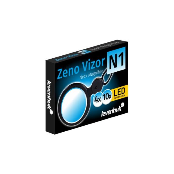 Levenhuk Zeno Vizor N1 Neck Magnifier uz kakla stiprin mais palielin tājs