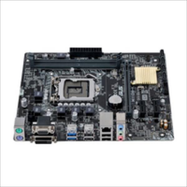 ASUS H110M-K LGA1151 microATX pamatplate, mātesplate