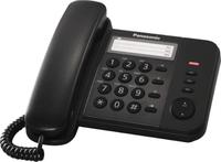 Panasonic KX-TS520FXB Black telefons