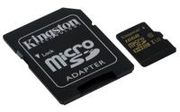 Kingston micro SDHC 16GB Class U3 + adapter atmiņas karte