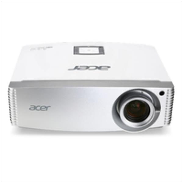 Acer H5380BD HD Ready/16:9/1280x720/3000Lm/17000:1/Zoom x1.1/3D/Lamp 5000-10000h/VGA,HDMI,MHL,USB,RS232/2.5kg/Speaker 2W/White Acer projektors